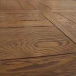 parquet a listoni in legno massello effetto quadroni - dettaglio