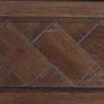 foto parquet in legno massello decorato - dettaglio